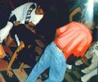 Foto in einer Disco in Santo Domingo